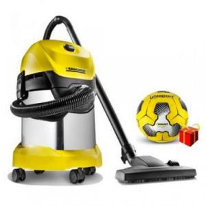 Пылесос Karcher WD 3  Premium Football Edition 1.629-859.0